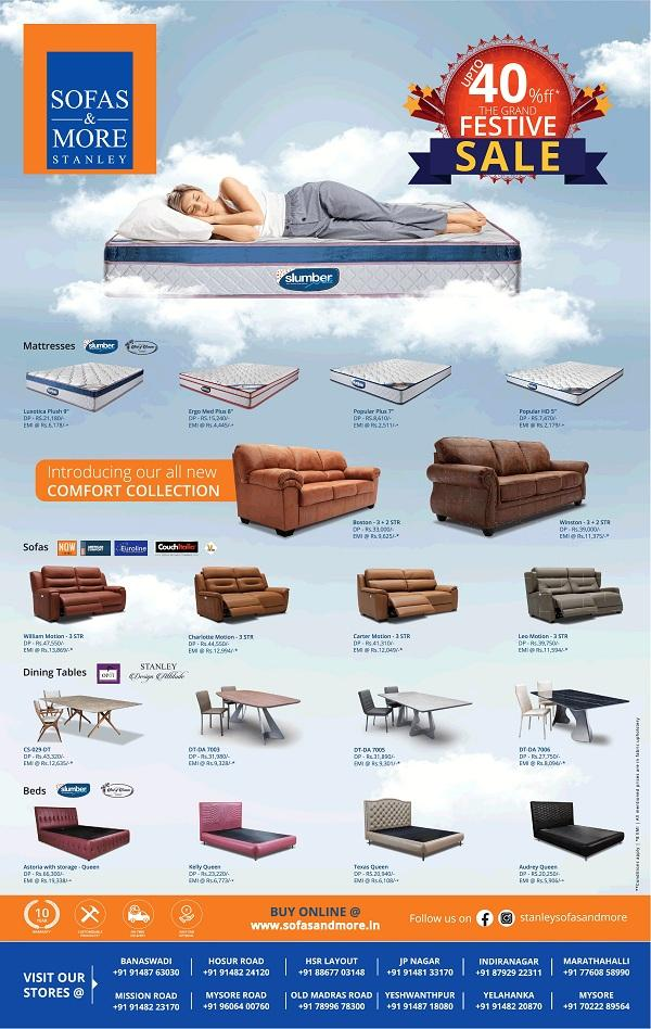 Sofas and More offers India