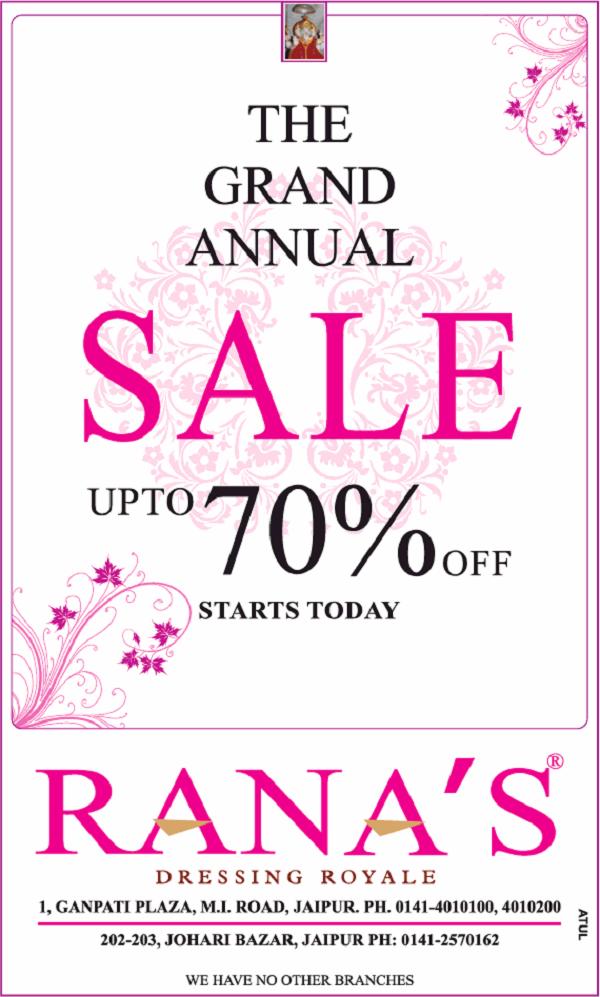 Ranas offers India