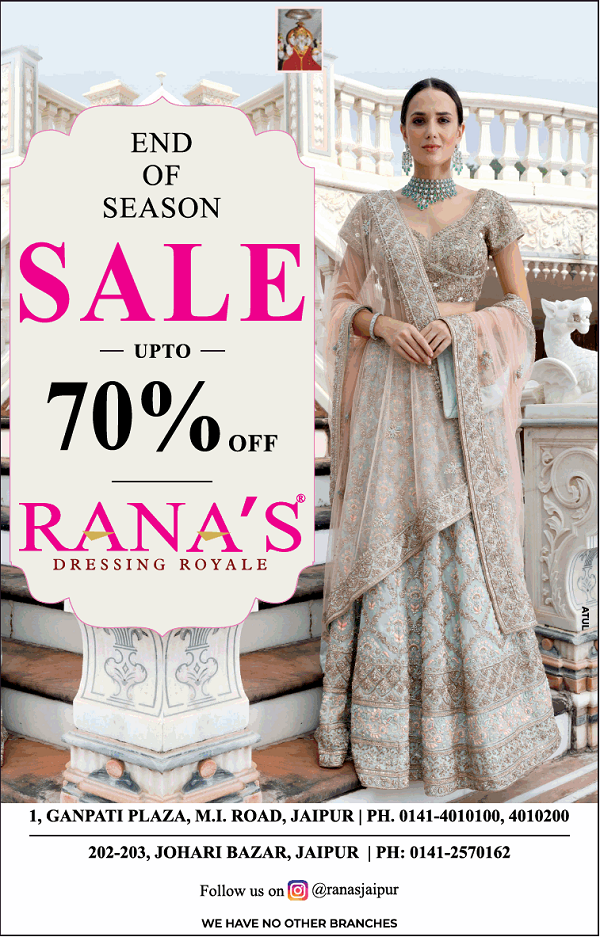 Ranas offers India