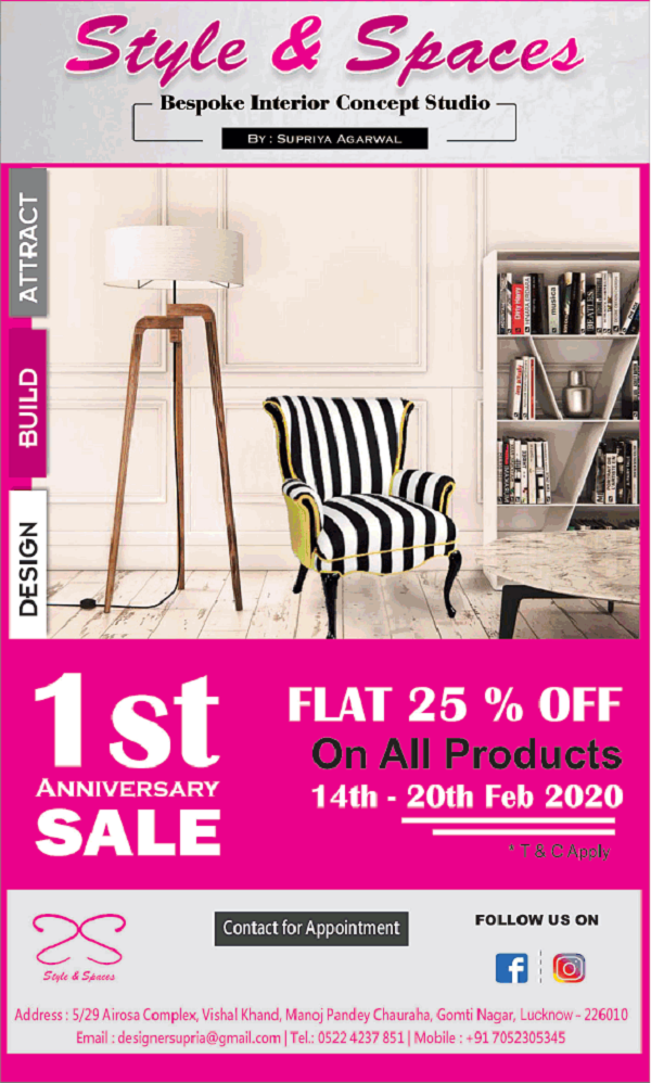Style and Spaces offers India