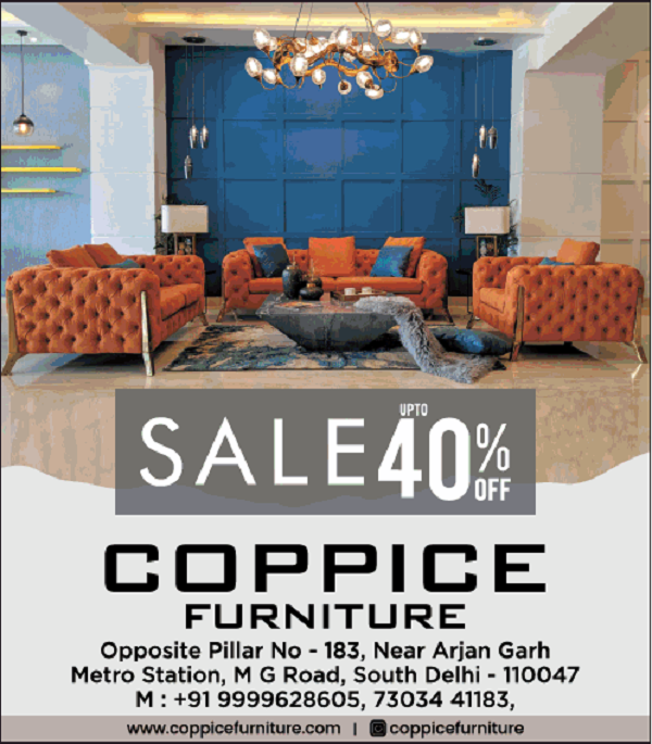 Coppice Furniture offers India