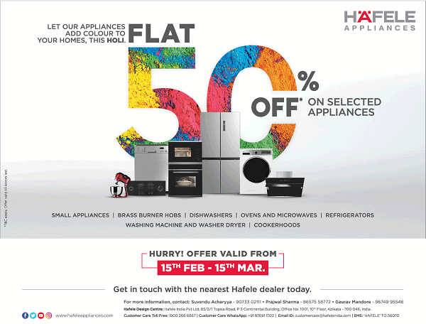Hafele Appliances offers India