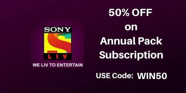 SonyLiv offers India