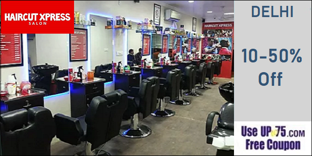 Haircut Xpress Salon offers India