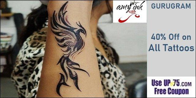 Amy Ink Tattooz offers India
