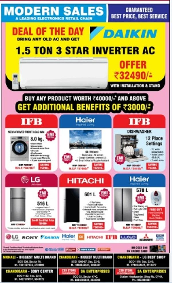 Modern Sales offers India