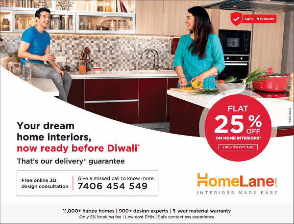 HomeLane offers India