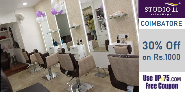Studio11 Salon and Spa offers India
