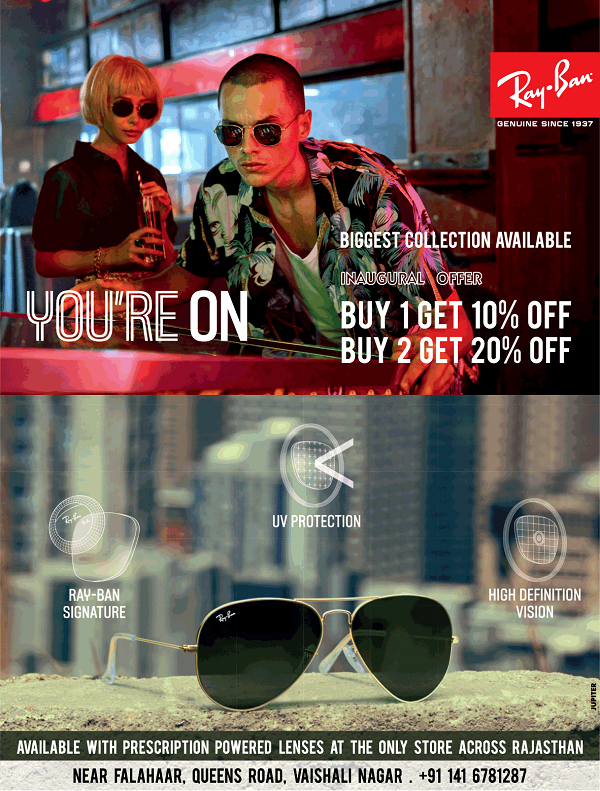Ray-Ban offers India