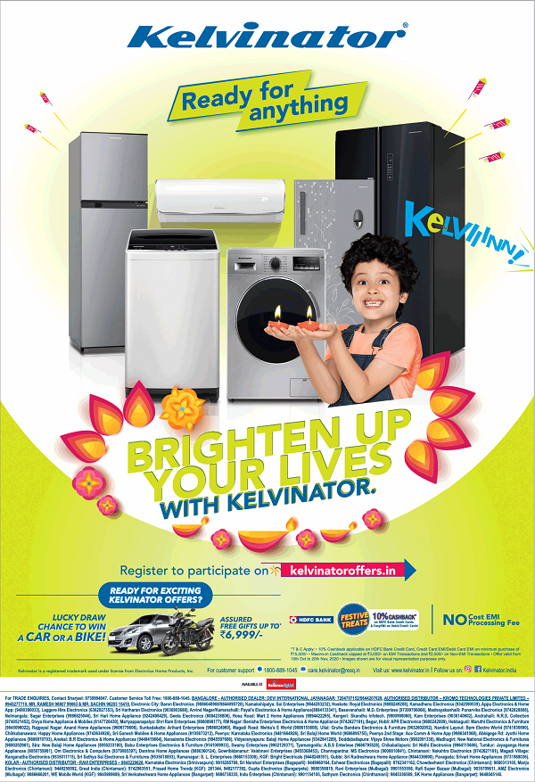 Kelvinator offers India