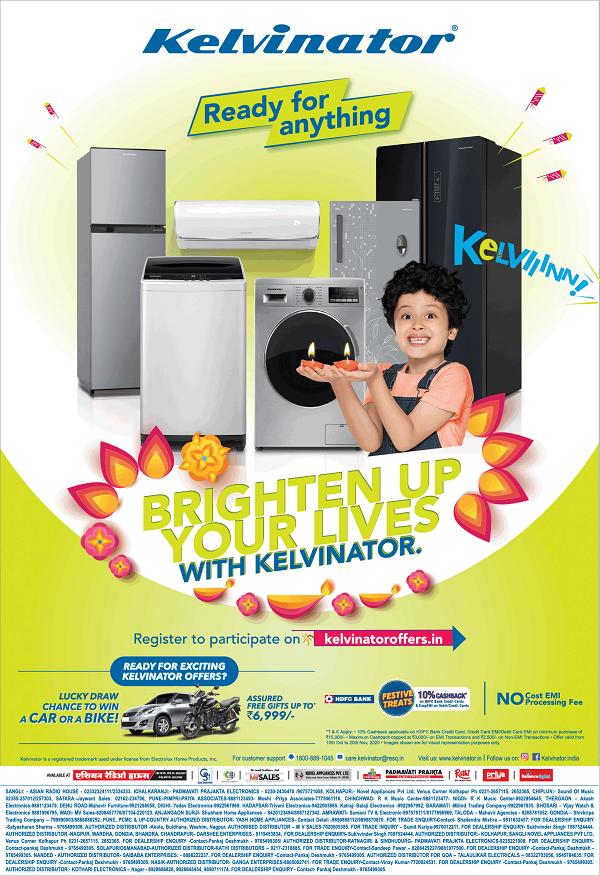 Kelvinator offers India