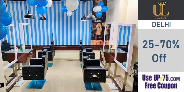 Unique LOOKS Salon offers India