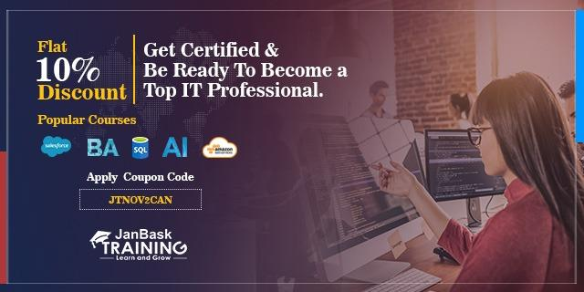 JanBask Training offers India