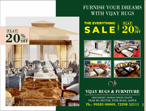 Vijay Rugs and Furniture offers India