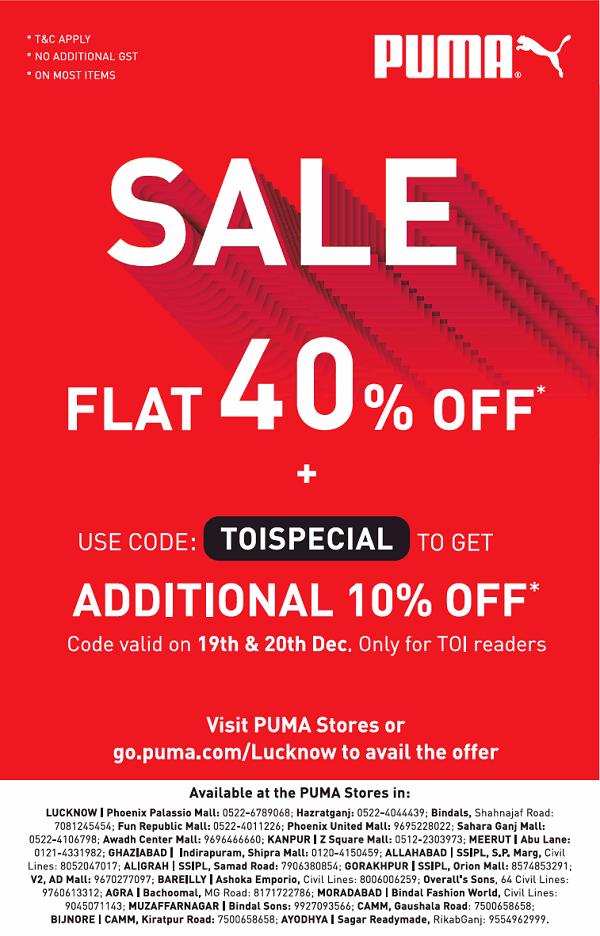 Puma offers India