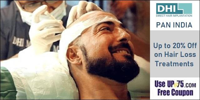 DHI Hair Transplant Clinics offers India