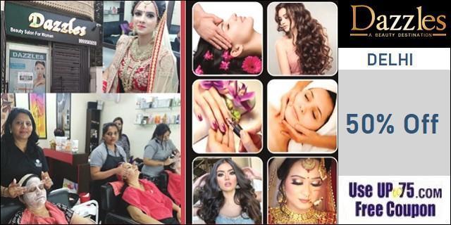 Dazzles Beauty Salon offers India