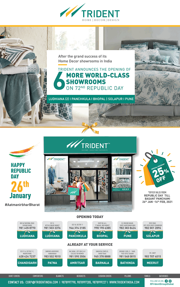 Trident India offers India