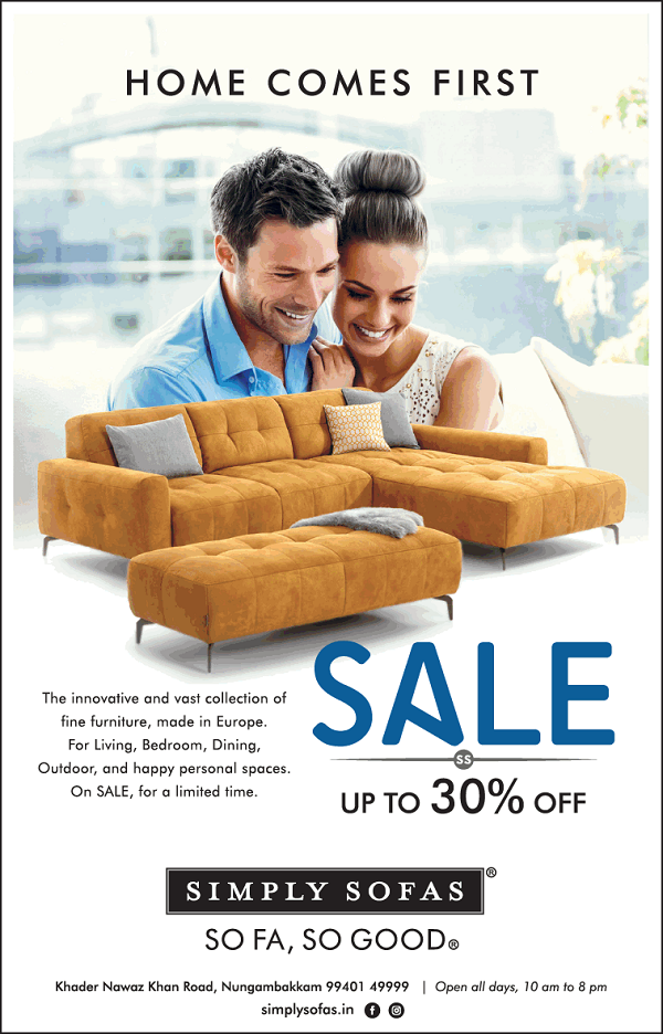 Simply Sofas offers India