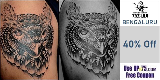 Immortal Creative Tattoo Studio offers India