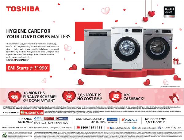 Toshiba offers India