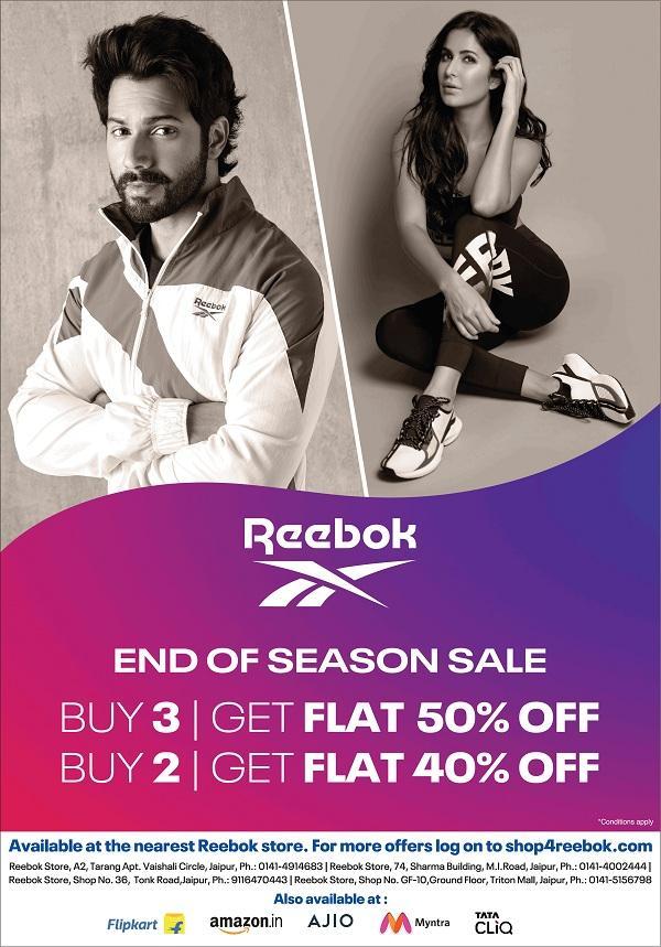 Reebok offers India