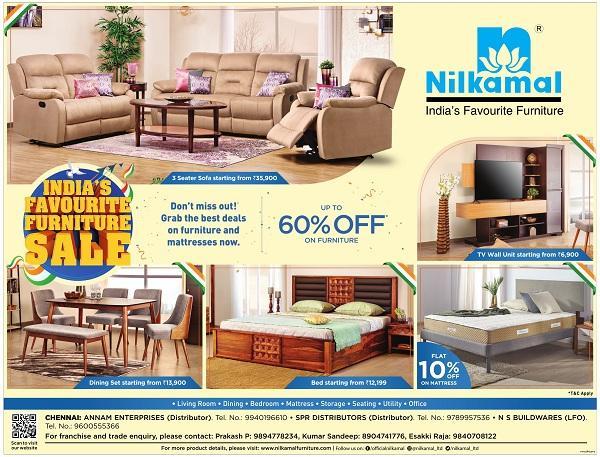 Nilkamal offers India