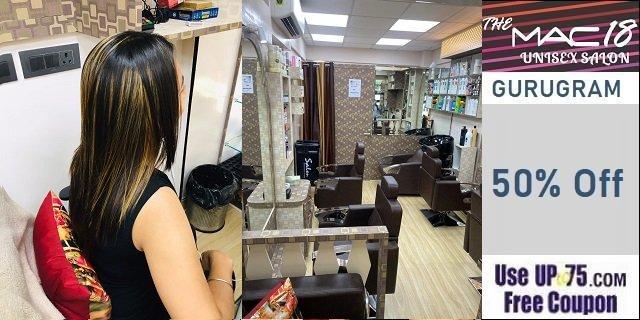 The MAC18 Unisex Salon offers India