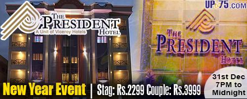 The President Hotel offers India