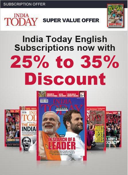 India Today - English Edition offers India