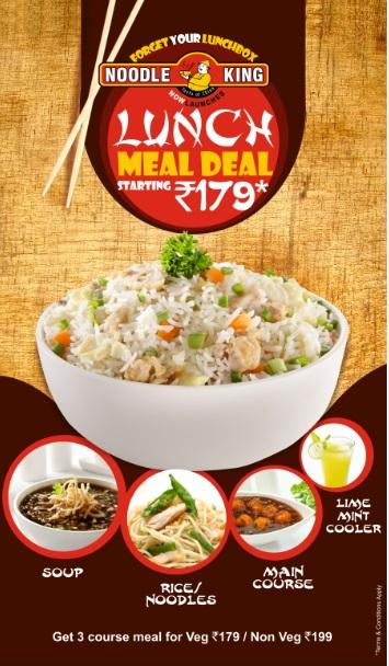 Noodle King offers India