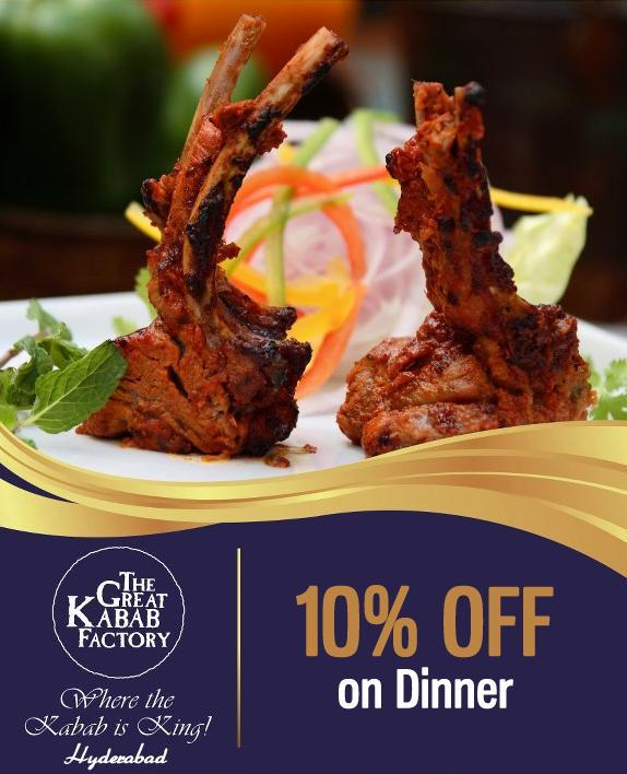 The Great Kabab Factory offers India