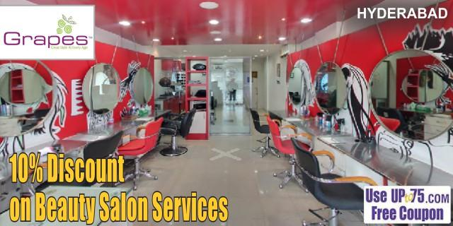 Grapes Hair Beauty and Makeup Studio offers India