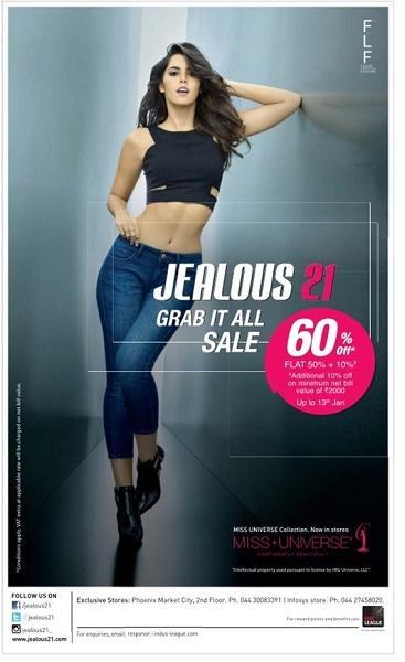 Jealous 21 offers India