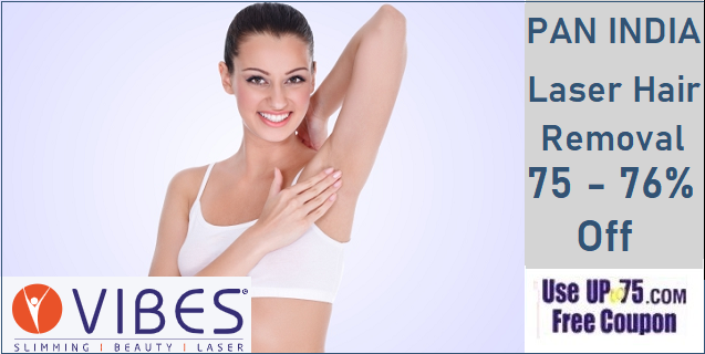Vibes Laser Hair Removal Coupons Offers Discount Prices Full Body