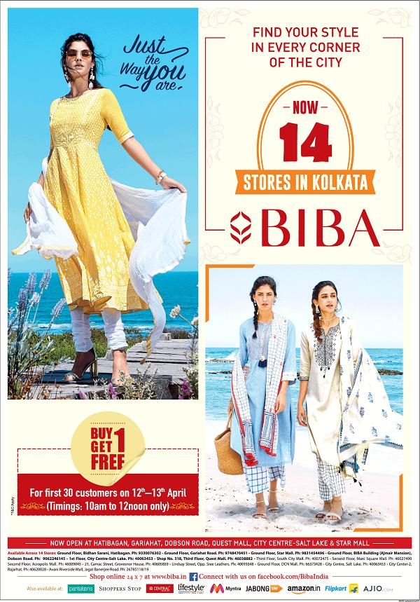 Biba offers India
