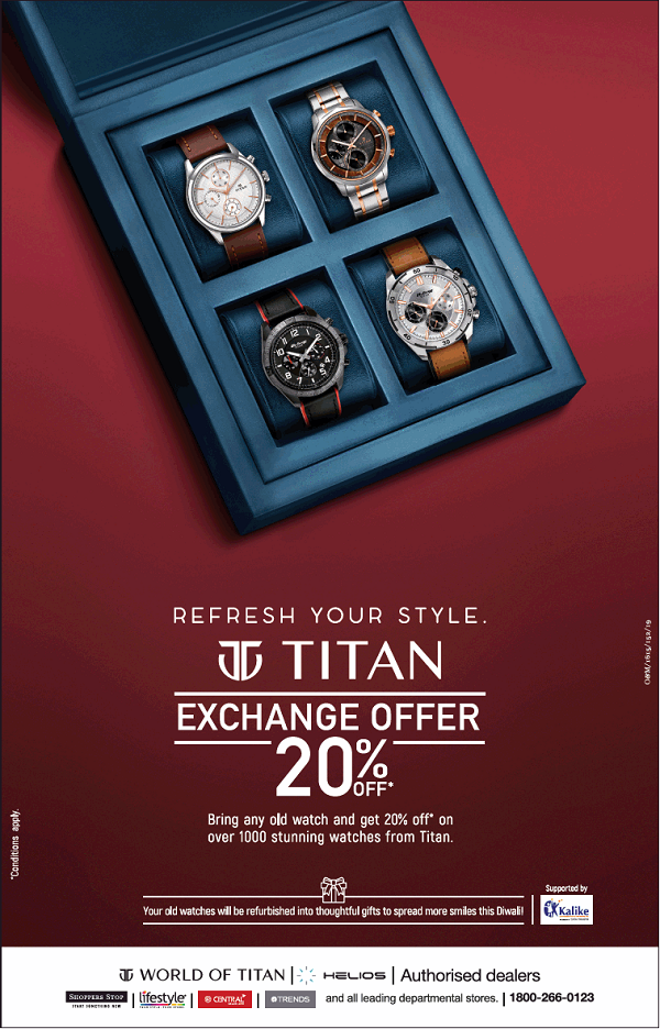 Titan Watches offers India