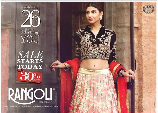 Rangoli Sarees offers India