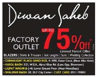 Diwan Saheb offers India