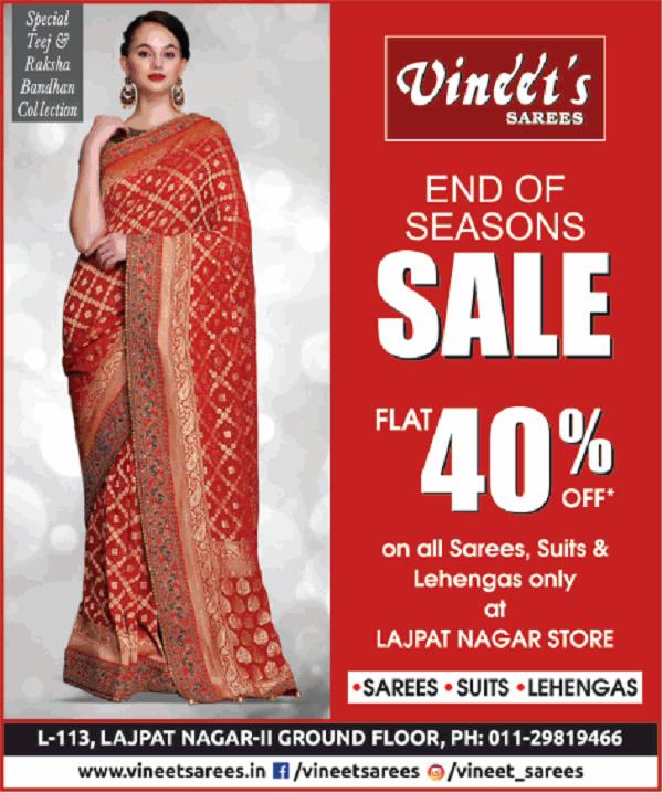 Vineet Sarees offers India