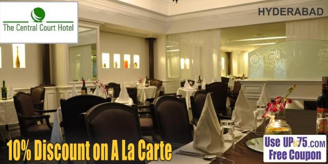 The Central Court Hotel offers India