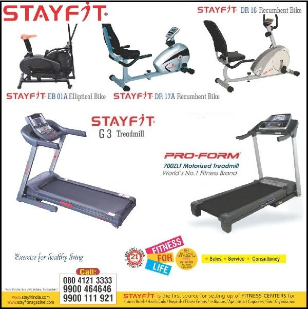 Stayfit World offers India
