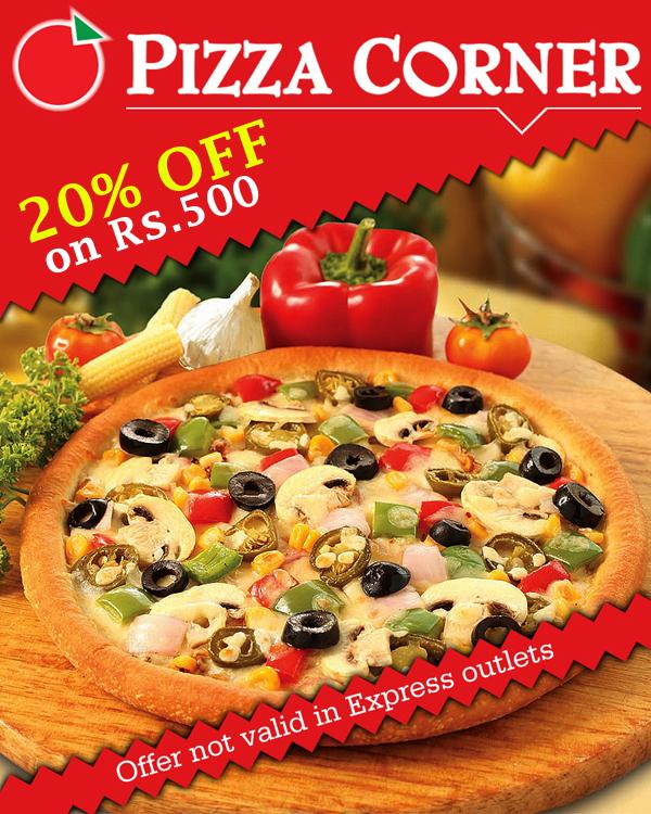 Pizza Corner offers India