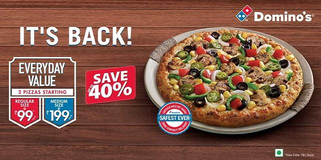 Dominos offers India