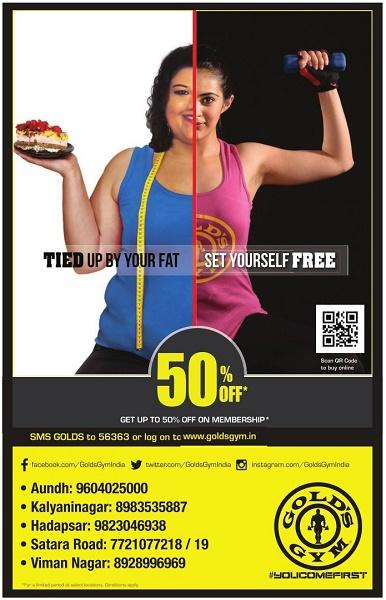 Gold's Gym offers India
