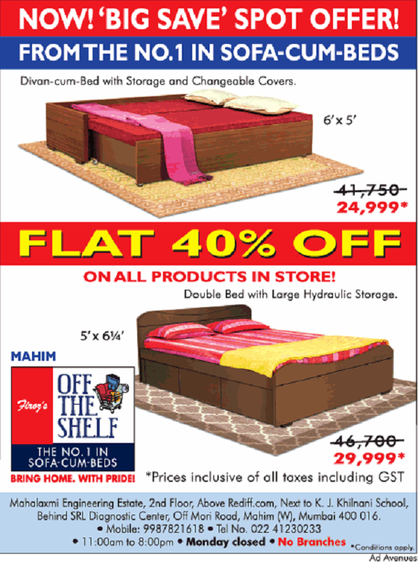 Off the Shelf offers India