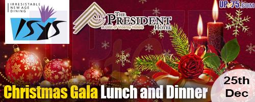 The President Hotel - Isys Restaurant offers India