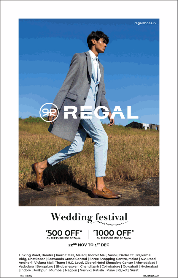 Regal Shoes offers India
