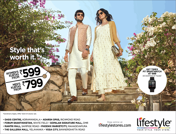 Lifestyle offers India