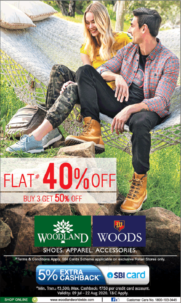 Woodland offers India